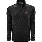 Levelwear Men's Texas AM Aggies Grey Armour Quarter-Zip Shirt