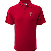Levelwear Men's Texas Tech Red Raiders Red Tactical Polo