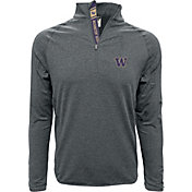 Levelwear Men's Washington Huskies Grey Metro Quarter-Zip
