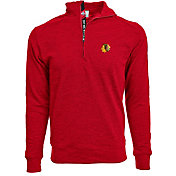 Levelwear Men's 2017 NHL Winter Classic Chicago Blackhawks Hudson Red Quarter-Zip