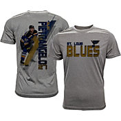 Levelwear Men's St. Louis Blues Alex Pietrangelo #27 Grey Spectrum T-Shirt