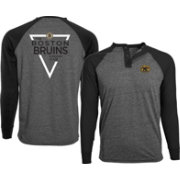 Levelwear Men's Boston Bruins Charcoal Yield Henley Shirt