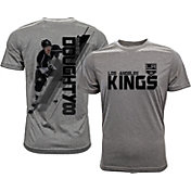 Levelwear Men's Los Angeles Kings Drew Doughty #8 Grey Spectrum T-Shirt