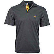 Levelwear Men's Pittsburgh Penguins Charcoal Omaha Polo