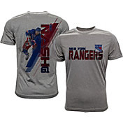 Levelwear Men's New York Rangers Rick Nash #61 Grey Spectrum T-Shirt