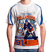 Levelwear Men's New York Islanders John Tavares #91 Center Ice White T-Shirt