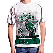 Levelwear Men's Dallas Stars Jamie Benn #14 Center Ice White T-Shirt