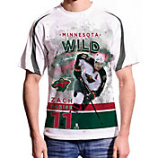 Levelwear Men's Minnesota Wild Zach Parise #11 Center Ice White T-Shirt