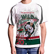 Levelwear Men's Minnesota Wild Ryan Suter #20 Center Ice White T-Shirt