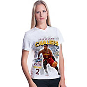 Levelwear Women's Cleveland Cavaliers Kyrie Irving Center Court T-Shirt