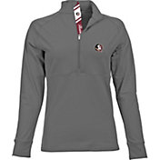Levelwear Women's Florida State Seminoles Grey Harmony Quarter-Zip