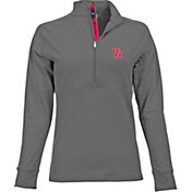 Levelwear Women's Houston Cougars Grey Harmony Quarter-Zip