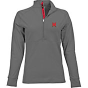 Levelwear Women's Maryland Terrapins Grey Harmony Quarter-Zip