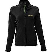 Levelwear Women's Oregon Ducks Black Tranquility Full-Zip Jacket