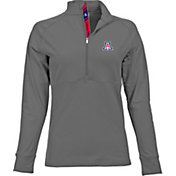 Levelwear Women's Arizona Wildcats Grey Harmony Quarter-Zip