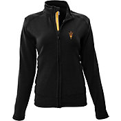 Levelwear Women's Arizona State Sun Devils Black Tranquility Full-Zip Jacket