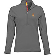 Levelwear Women's Arizona State Sun Devils Grey Harmony Quarter-Zip