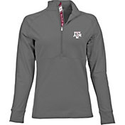 Levelwear Women's Texas A&M Aggies Grey Harmony Quarter-Zip