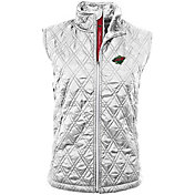 Levelwear Women's Minnesota Wild Morningstar Quilted Vest