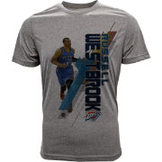 Levelwear Youth Oklahoma City Thunder Russell Westbrook Fadeaway Grey T-Shirt