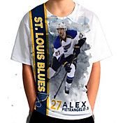 Levelwear Youth St. Louis Blues Alex Pietrangelo #27 Breakaway White T-Shirt