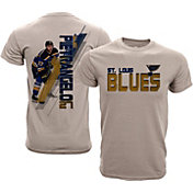 Levelwear Youth St. Louis Blues Alex Pietrangelo #27 Charcoal Spectrum T-Shirt