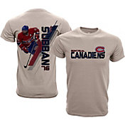 Levelwear Youth Montreal Canadiens PK Subban #76 Charcoal Spectrum T-Shirt