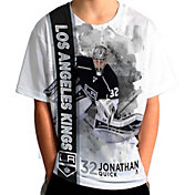 Levelwear Youth Los Angeles Kings Jonathan Quick #32 Breakaway White T-Shirt