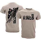 Levelwear Youth Los Angeles Kings Drew Doughty #8 Charcoal Spectrum T-Shirt