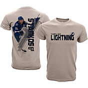 Levelwear Youth Tampa Bay Lightning Steven Stamkos #91 Charcoal Spectrum T-Shirt