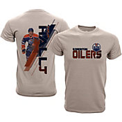 Levelwear Youth Edmonton Oilers Taylor Hall #4 Charcoal Spectrum T-Shirt