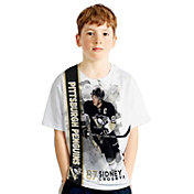 Levelwear Youth Pittsburgh Penguins Sidney Crosby #87 Breakaway White T-Shirt