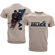 Levelwear Youth Colorado Avalanche Jarome Iginla #12 Charcoal Spectrum T-Shirt