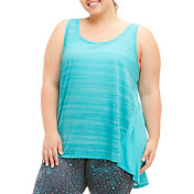 Marika Curves Women's Plus Size Swing Singlet Tank Top
