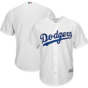 Majestic Boys' Replica Los Angeles Dodgers Cool Base Home White Jersey