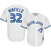 Majestic Men's Replica Toronto Blue Jays Dave Winfield Cool Base White Cooperstown Jersey