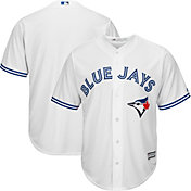 Majestic Men's Replica Toronto Blue Jays Cool Base Home White Jersey