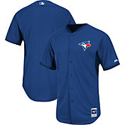 Majestic Men's Authentic Toronto Blue Jays Royal Cool Base Batting Practice Jersey