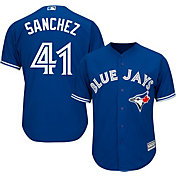 Majestic Men's Replica Toronto Blue Jays Aaron Sanchez #41 Cool Base Alternate Royal Jersey