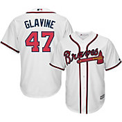Majestic Men's Replica Atlanta Braves Tom Glavine #47 Cool Base Home White Jersey