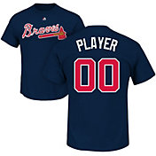 Majestic Men's Full Roster Atlanta Braves Navy T-Shirt