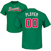 Majestic Men's Full Roster Atlanta Braves Green T-Shirt