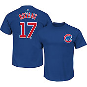 Majestic Triple Peak Men's Chicago Cubs Kris Bryant Royal T-Shirt