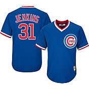 Majestic Men's Replica Chicago Cubs Fergie Jenkins Cool Base Royal Cooperstown Jersey