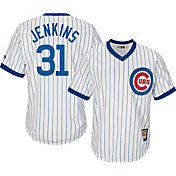 Majestic Men's Replica Chicago Cubs Fergie Jenkins Cool Base White Cooperstown Jersey