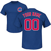 Majestic Men's Custom Chicago Cubs Royal T-Shirt