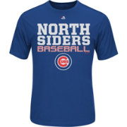 "Majestic Men's Chicago Cubs Cool Base ""North Siders"" Royal Performance T-Shirt"