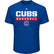 Majestic Men's Chicago Cubs Proven Pastime Royal T-Shirt