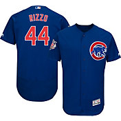 Majestic Men's Authentic Chicago Cubs Anthony Rizzo #44 Alternate Royal Flex Base On-Field Jersey