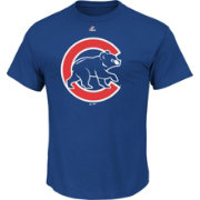 Majestic Men's Chicago Cubs Logo Royal T-Shirt